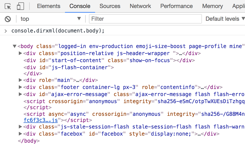 Chrome Devtools - Part 2 - All about the console